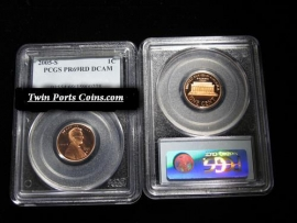 2005-S PCGS Proof 69 Deep Cameo Lincoln Cent